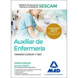 Auxiliar de Enfermería del Servicio de Salud de Castilla-La Mancha (SESCAM)