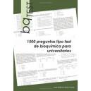 bqTEST. 1000 preguntas tipo test de bioquímica para universitarios