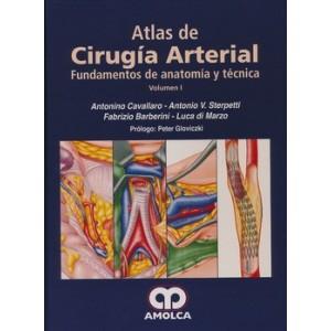 ATLAS DE Cirugía de las Arterias. Fundamentos de Anatomía y Técnica, 2 VOLS