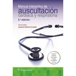 Manual interactivo de auscultación cardiaca y respiratoria 5ª edición