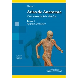 Atlas de Anatomía Aparato Locomotor. Tomo 1