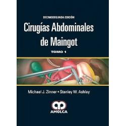 Cirugías Abdominales de Maingot, 2 Vols.