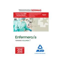Enfermeras/os del Servicio de Salud de la Comunidad de Madrid. Temario Volumen I