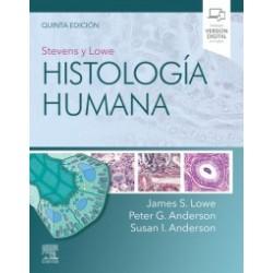 Stevens y Lowe. Histología humana (incluye eBook)