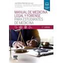 Manual de medicina legal y forense para estudiantes de Medicina - 2ª edición