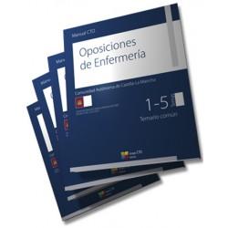Manual CTO de Oposiciones de Enfermería - Castilla La Mancha