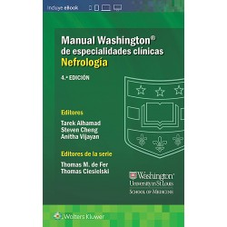 Manual Washington de especialidades clínicas. Nefrología, 4ª edición