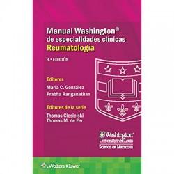 Manual Washington de especialidades clínicas. Reumatología