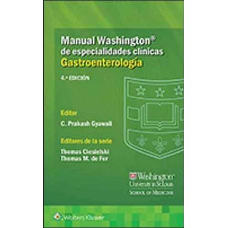 Manual Washington de Especialidades Clínicas: Gastroenterología