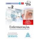 Enfermeras/os del Servicio de Salud de la Comunidad de Madrid. Temario Volumen II