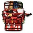Pack 5 EXTREME'S Bolsa blanda de emergencias para soporte vital básico + Tratado para técnicos en emergencias sanitarias